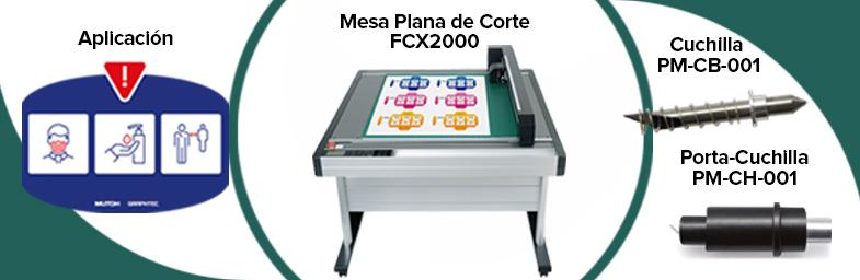 Mesa de Corte Graphtec Serie FCX2000